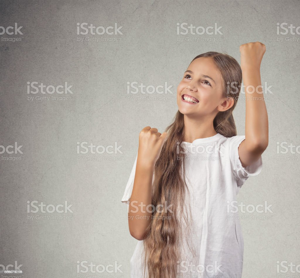 beautiful young girl smiling teenager stock photo