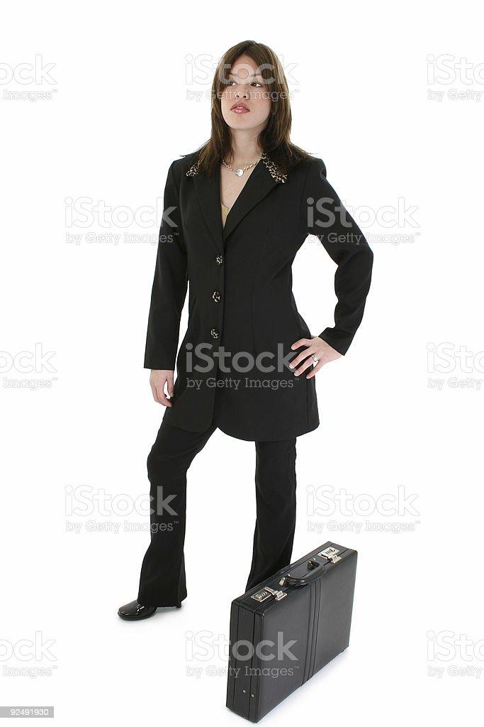 Beautiful Young Hispanic Business Woman royalty-free stock photo