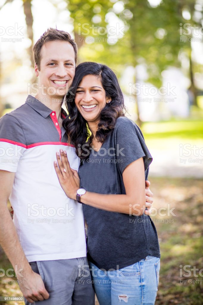 white woman dating an indian man