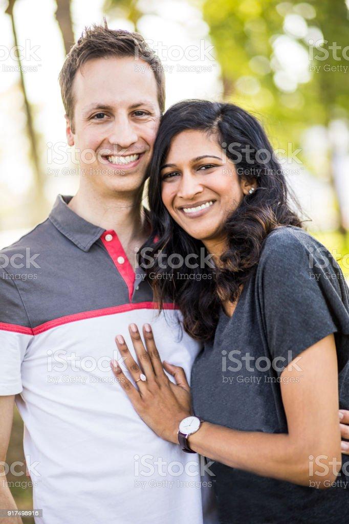 white woman indian man dating