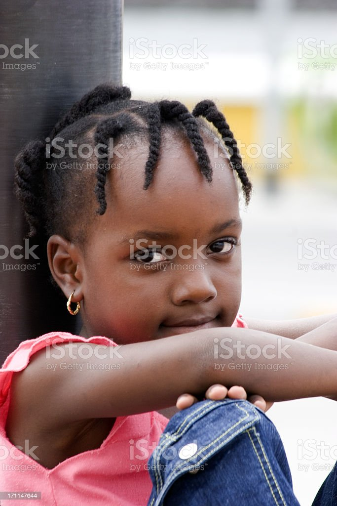 Beautiful Young Lady royalty-free stock photo