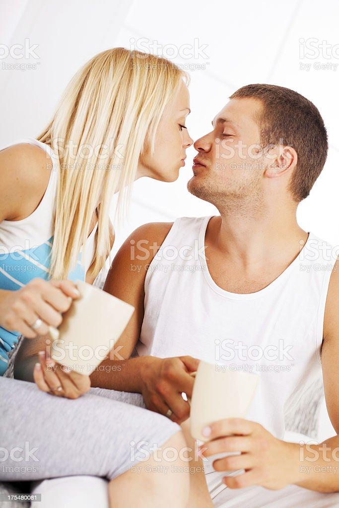 Bella giovane coppia avendo sesso