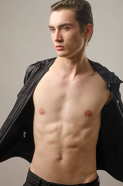 Skinny Naked Men Pictures, Images and Stock Photos - iStock