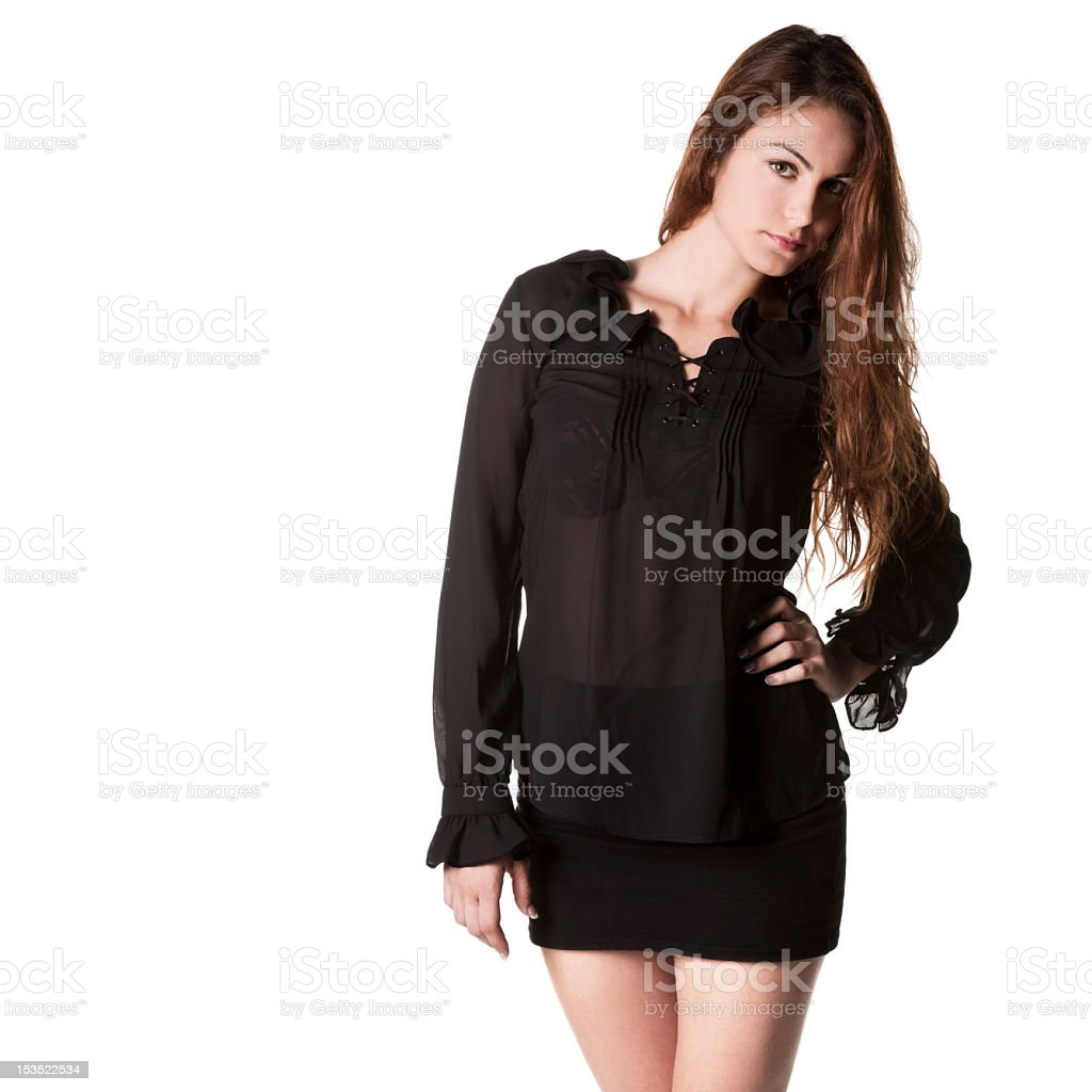 Beautiful Young Model royalty-free stock photo