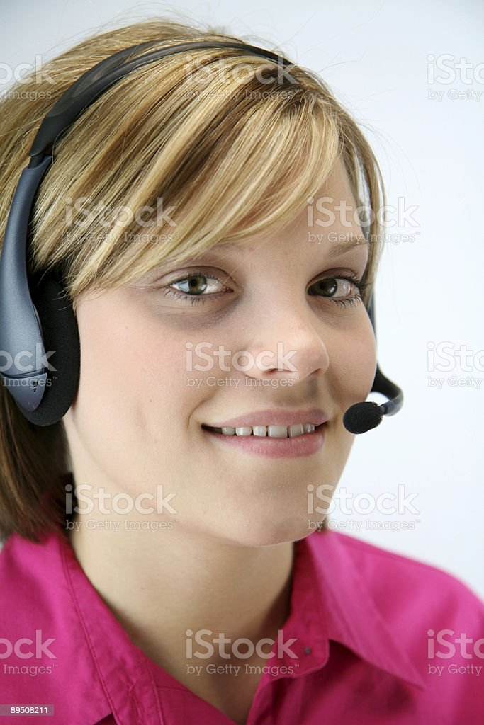Beautiful Young Professional royalty-free stock photo