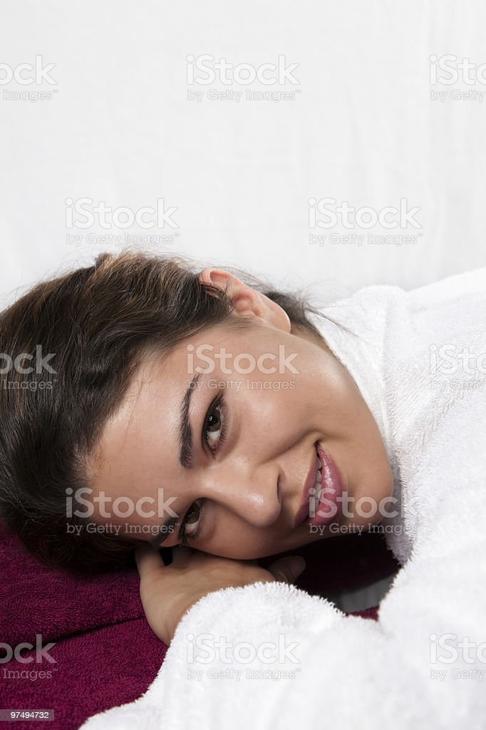 Beautiful Young Smiling Face royalty-free stock photo