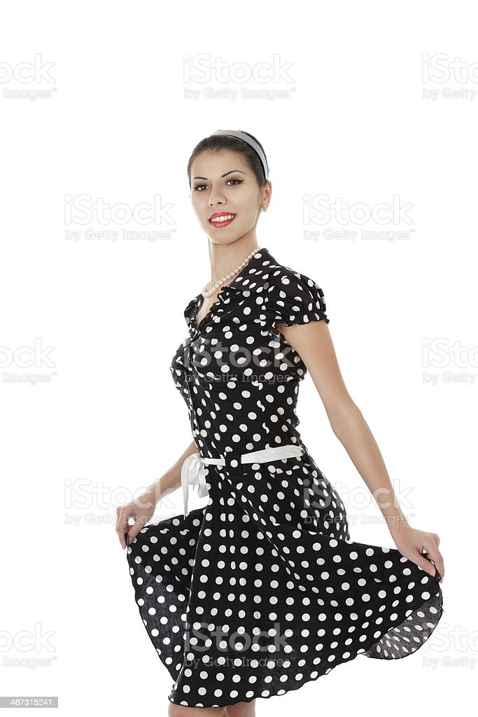 Beautiful young smiling woman royalty-free stock photo