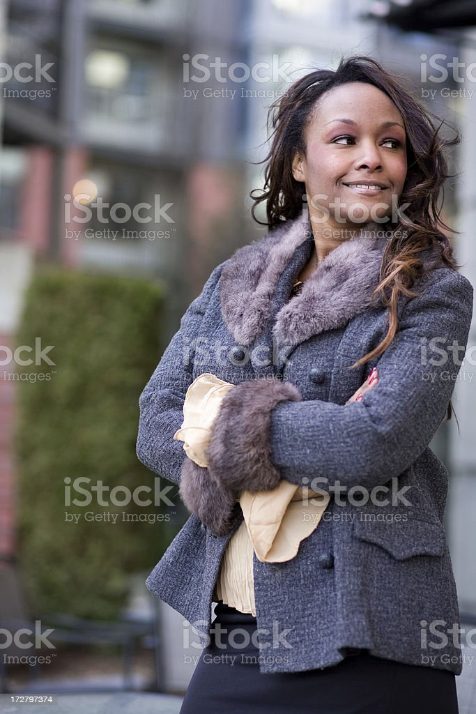 beautiful young woman royalty-free stock photo