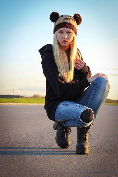 ... Beautiful Young Woman stock photo Teenager girl ...