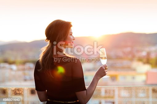 istock Beautiful young woman 498501640
