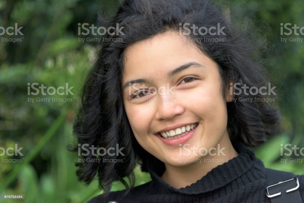 Beautiful young woman 免版稅 stock photo