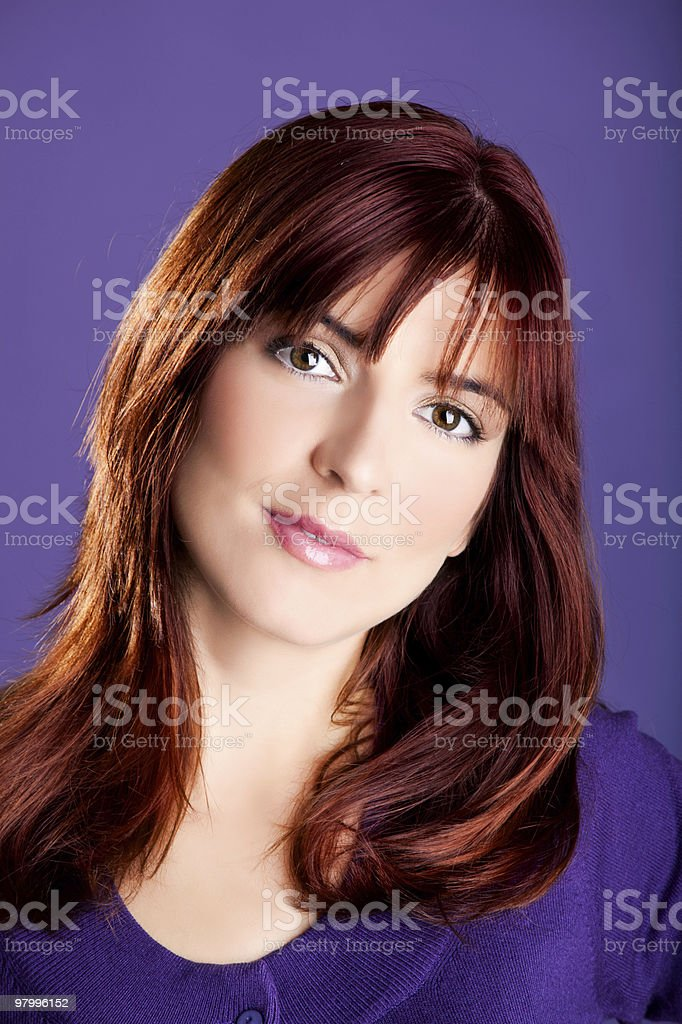 Beautiful young woman royalty free stockfoto