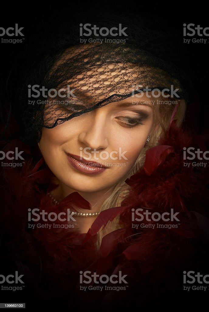 Beautiful young woman. Portrait. royalty-free stock photo