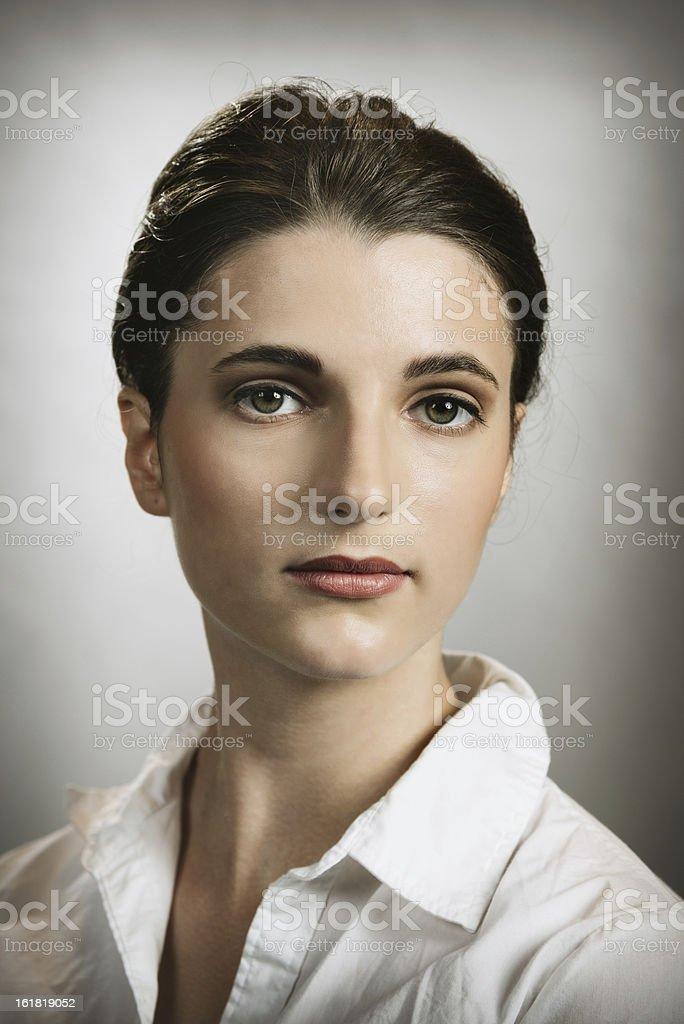 Beautiful Young Woman Portrait Beautiful woman, Real People Portrait. 20-29 Years Stock Photo