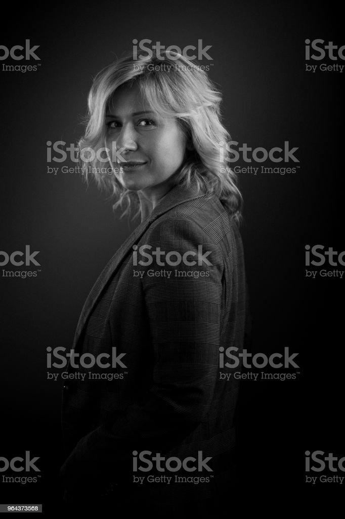 Mooie jonge vrouw portret - Royalty-free 30-39 jaar Stockfoto