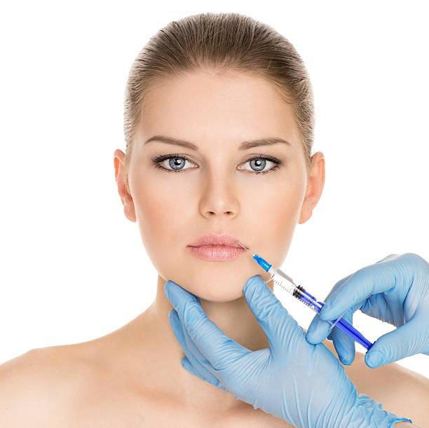 Kosmetische Injektion – Foto