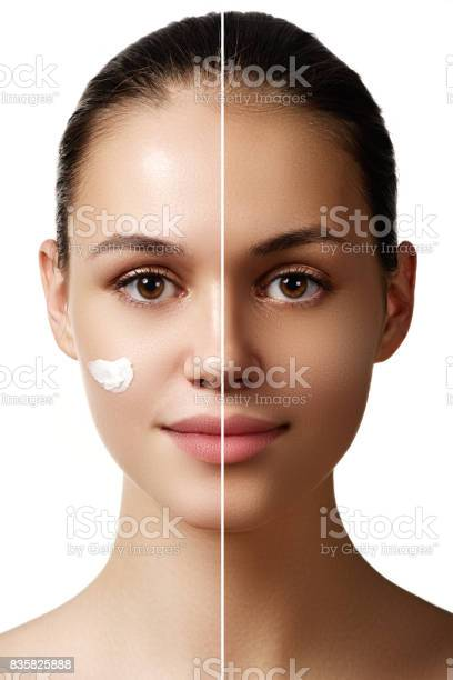 Beautiful young woman with tanned skin before and after tan fac picture id835825888?b=1&k=6&m=835825888&s=612x612&h=soqavhbqqoamlwoc er7r05i3uwor8lecnruu4zs2ns=
