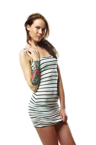 Modern Pin Up Girl Tattoos Stock Photos, Pictures ...