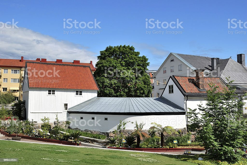 Beautifulest place in Uppsala, Sweden royalty-free stock photo