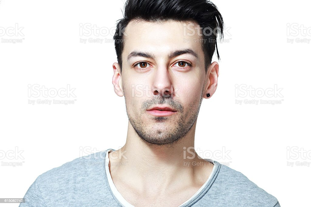 beautifull young man stock photo