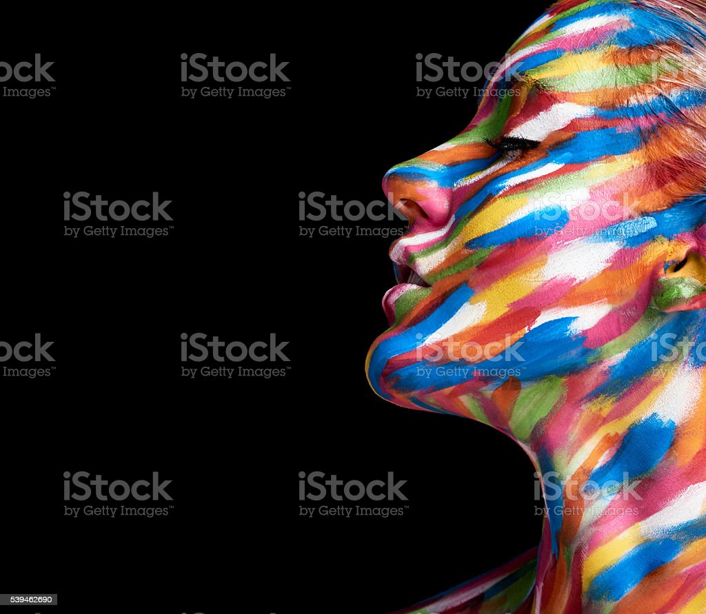 Beautifully coloured stock photo