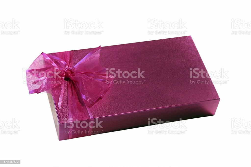 Beautifully Wrapped Gift royalty-free stock photo