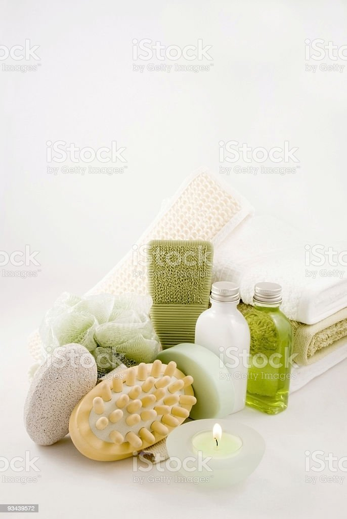 Beauty and Bath Spa Collection stock photo