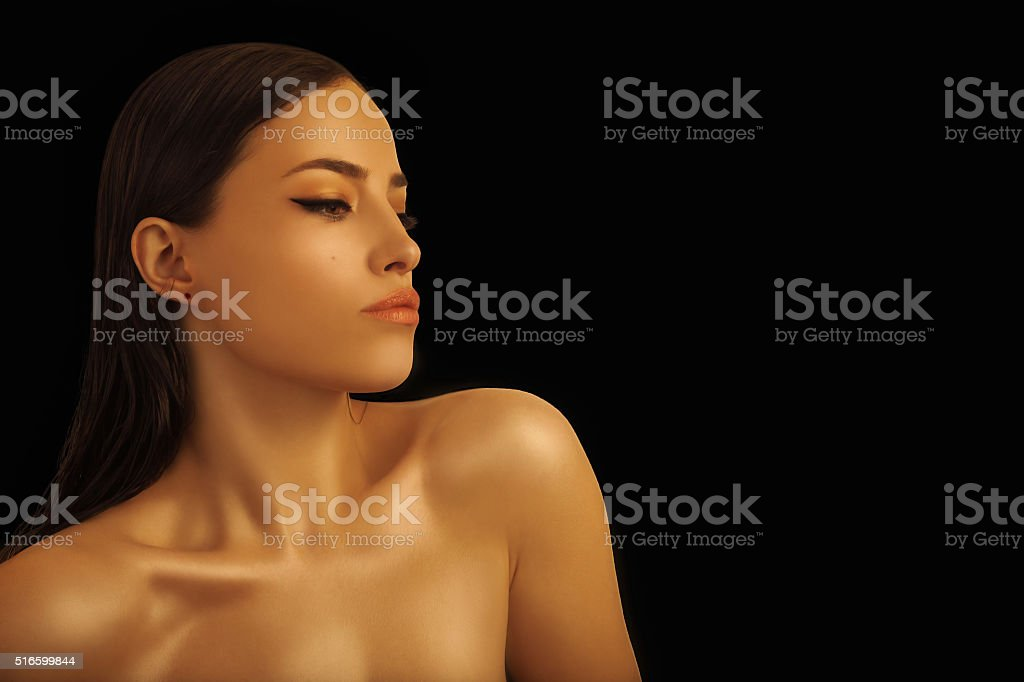 beauty and body stock photo