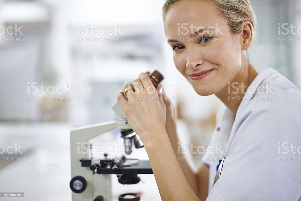Beauty and brains stock photo