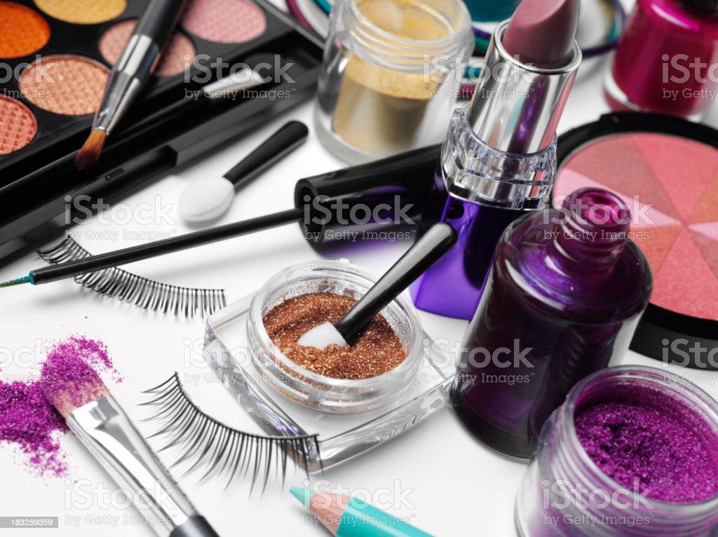 Beauty and Cosmetics royalty-free stock photo