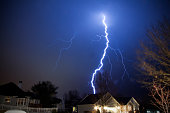 Beauty and fear in the natural power of lightning