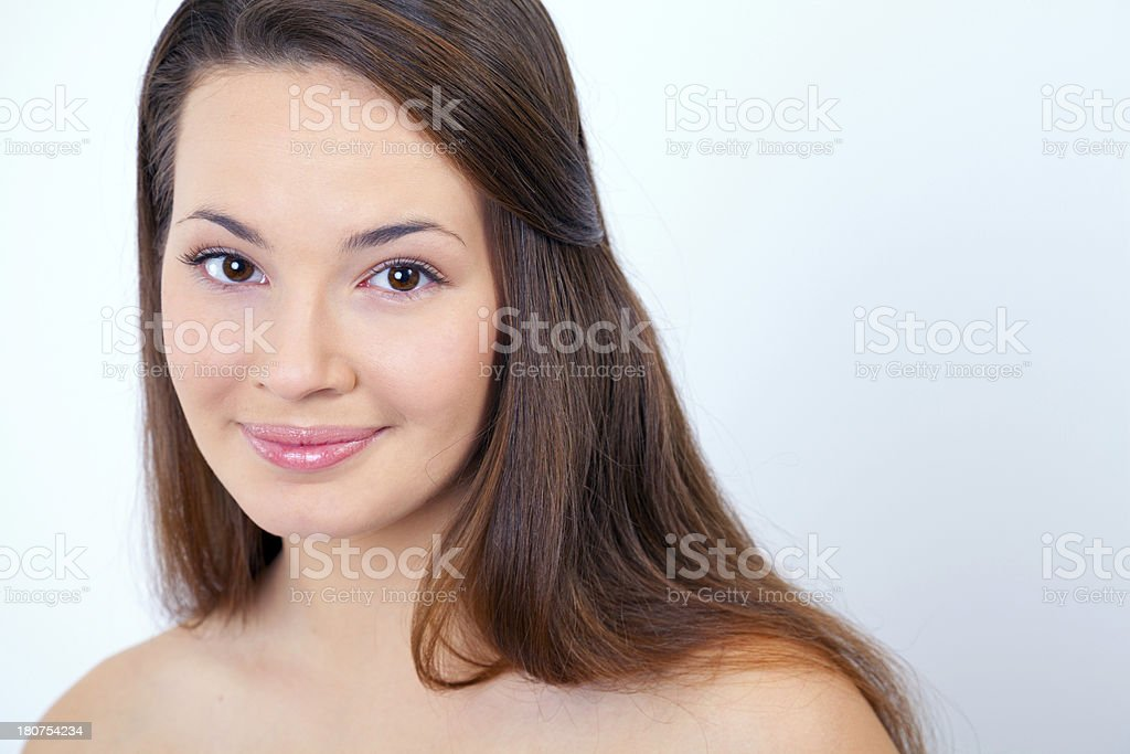Beauty and purity of adolescence royalty-free stock photo