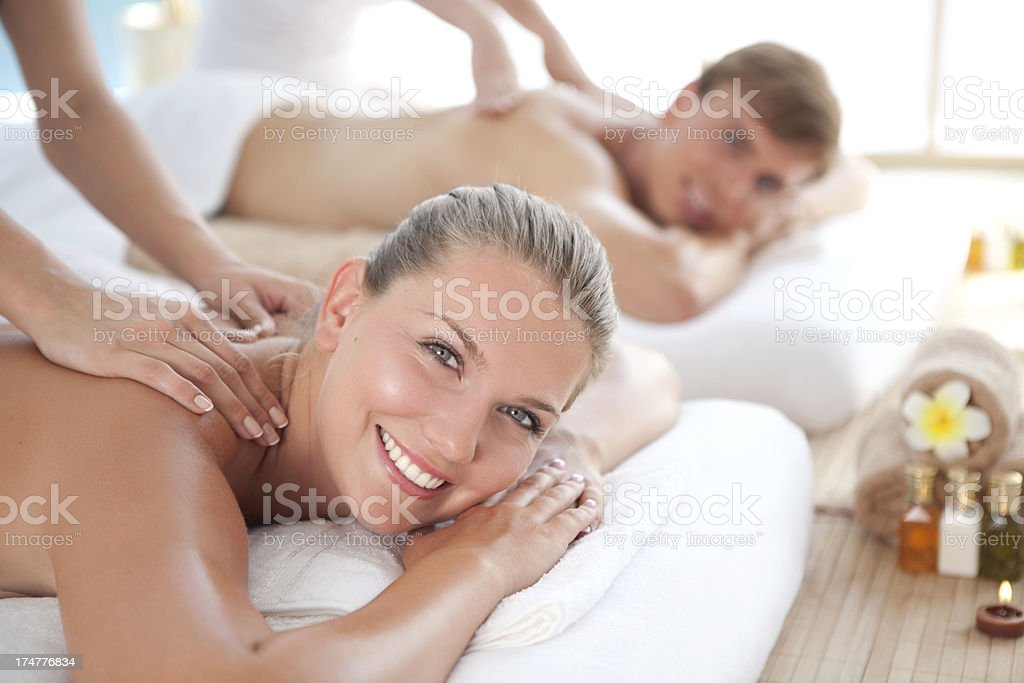 Beauty and relax time royalty-free stock photo