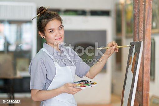 istock beauty Artist 540860552