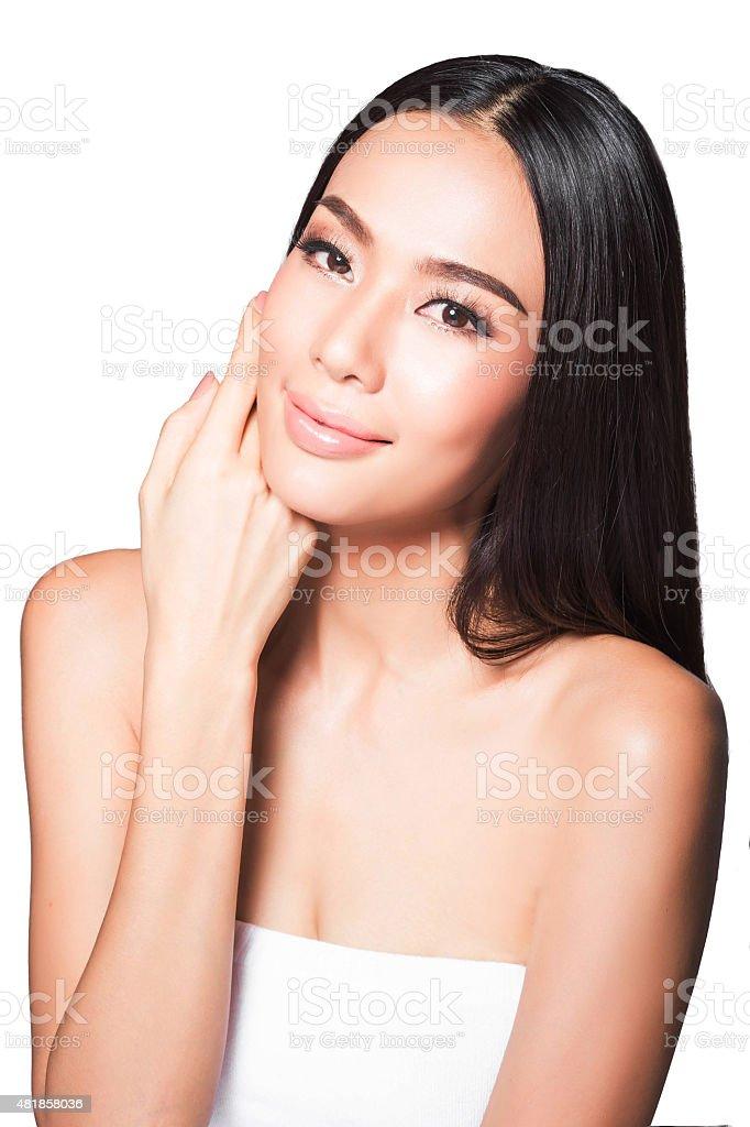 Beauty Asian women stock photo