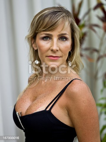 istock Beauty at her forties 157333016