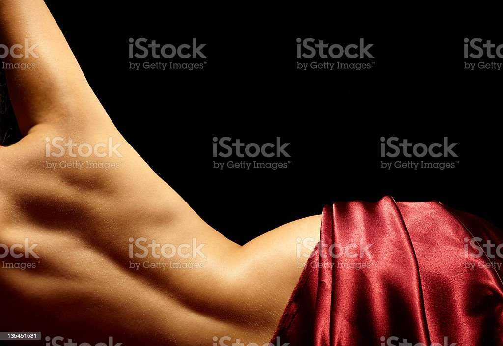 Beauty back stock photo
