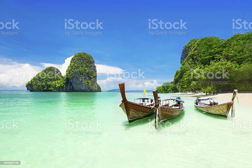 Beauty beach stock photo