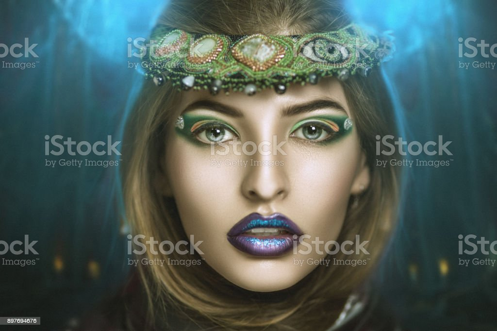 beauty beautiful face model stock photo