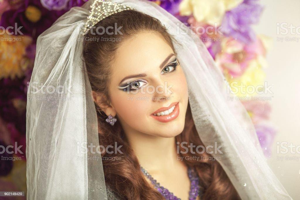 beauty beautiful woman face conceptual stock photo