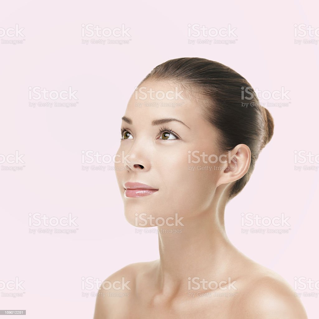 Beauty - beautiful woman stock photo