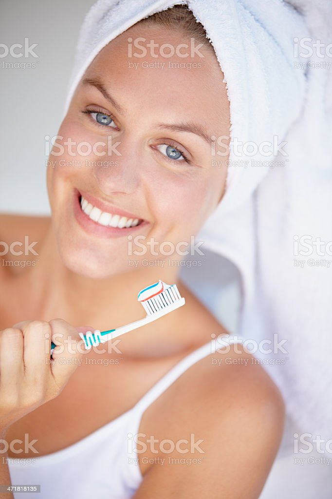 Beauty begins with the basics! royalty-free stock photo