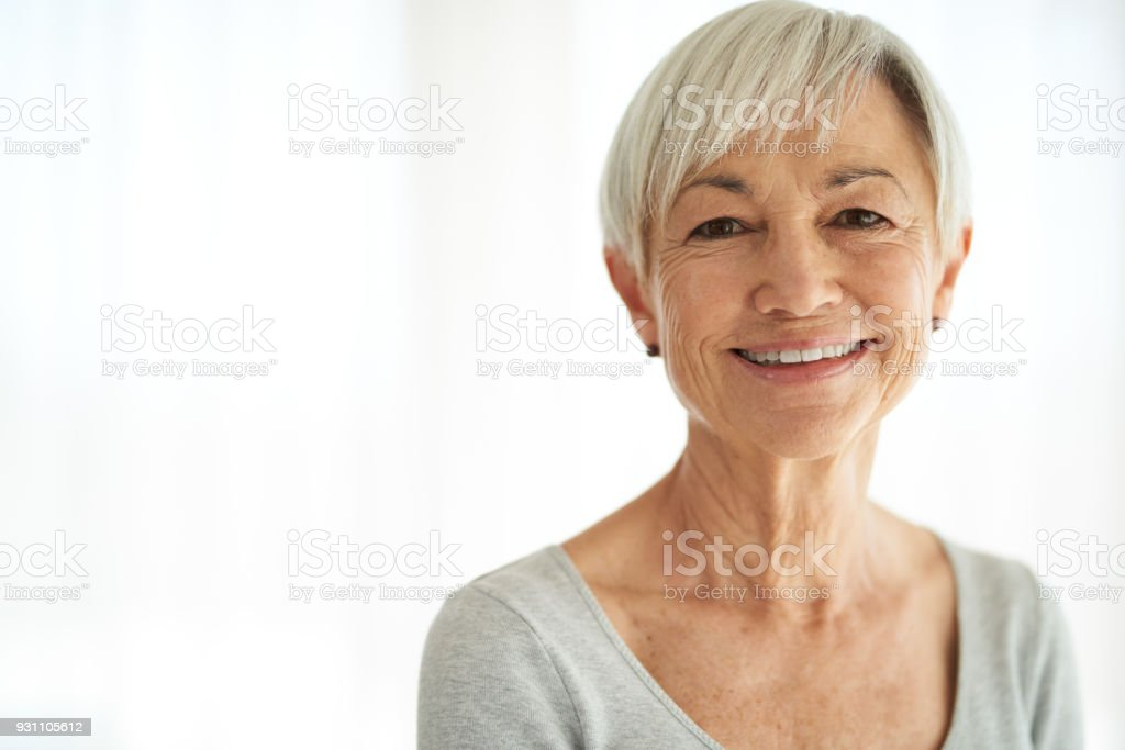 Beauty belongs to every age stock photo