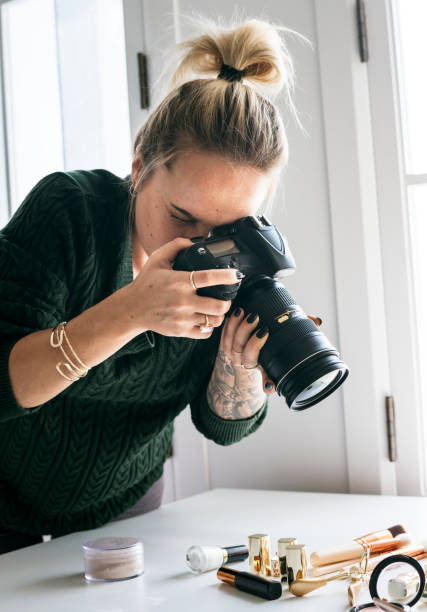 Beauty blogger taking photo of cosmetics picture id918813050?b=1&k=6&m=918813050&s=612x612&w=0&h=1p8wwcyz9 4gfsydrbi7jgglos2hbxi7hy1wi bstny=