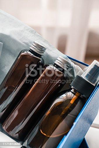 1042453716 istock photo Beauty box set of natural cosmetics 1171810688