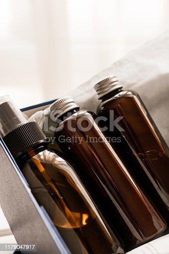 1042453716 istock photo Beauty box set of natural cosmetics 1179047917