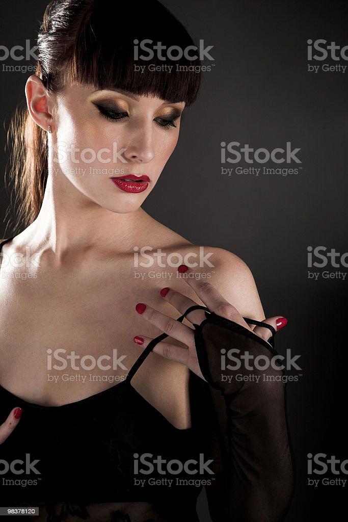 Bellezza brunette foto stock royalty-free