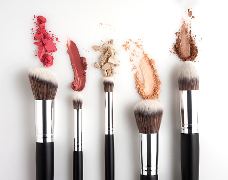 istock Beauty brushes. 1161219626