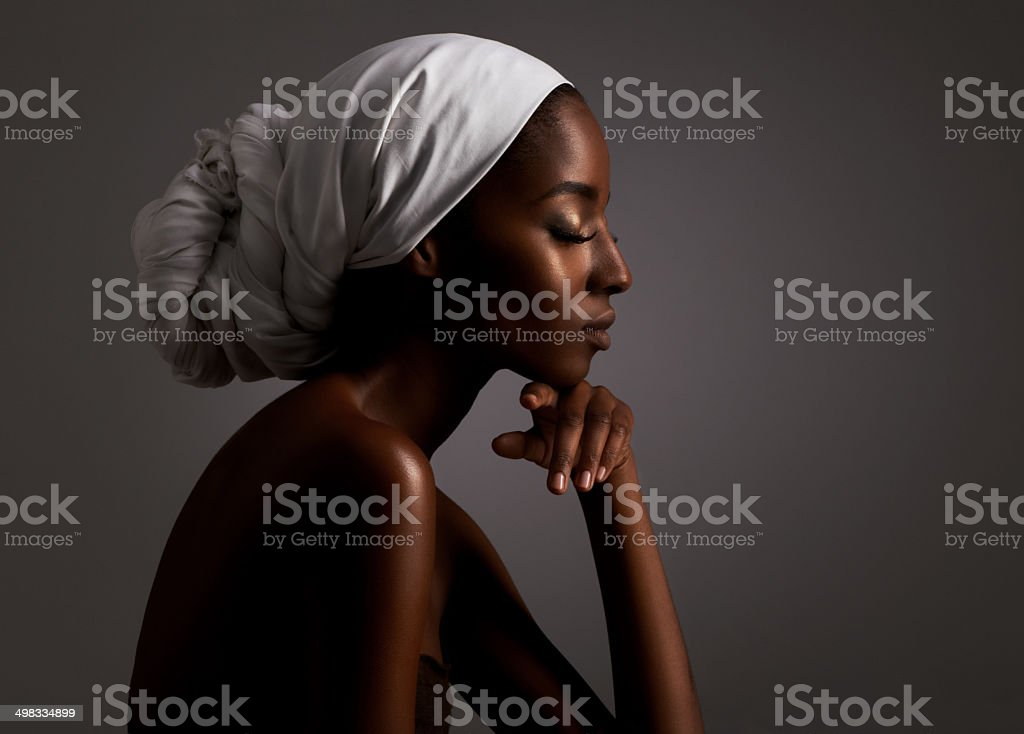 Beauty by tradition stock photo