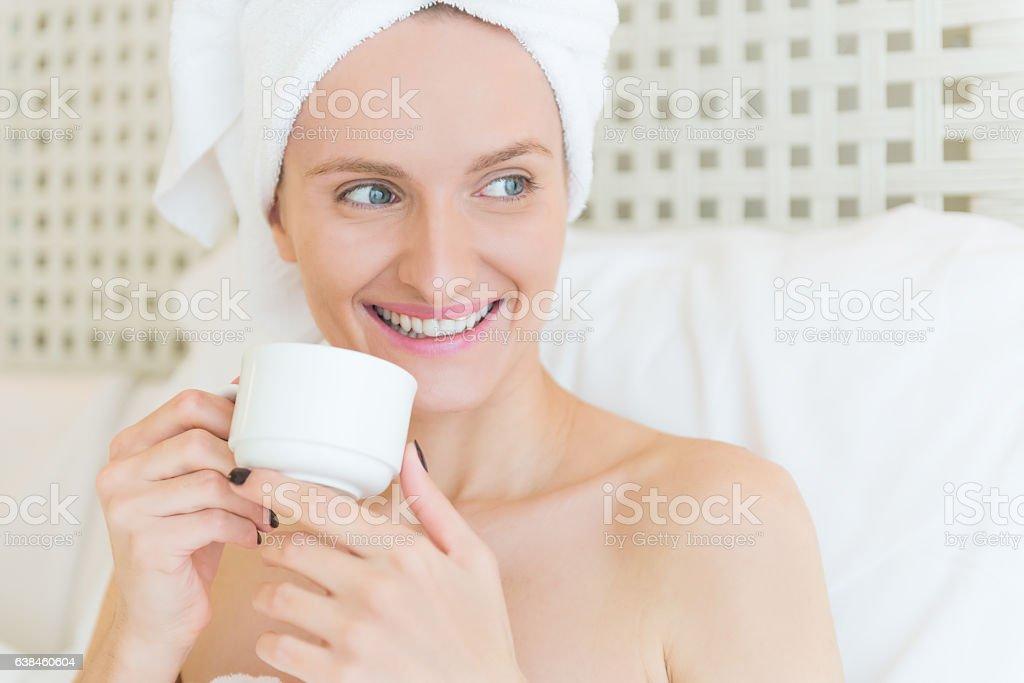 Beauty care & detox ! stock photo